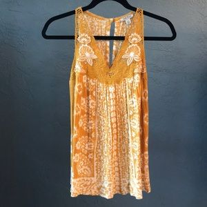 NWOT Lucky Brand Top XS